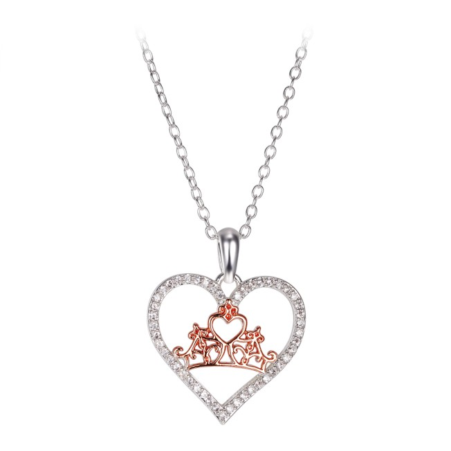 Disney Princess Crown Necklace