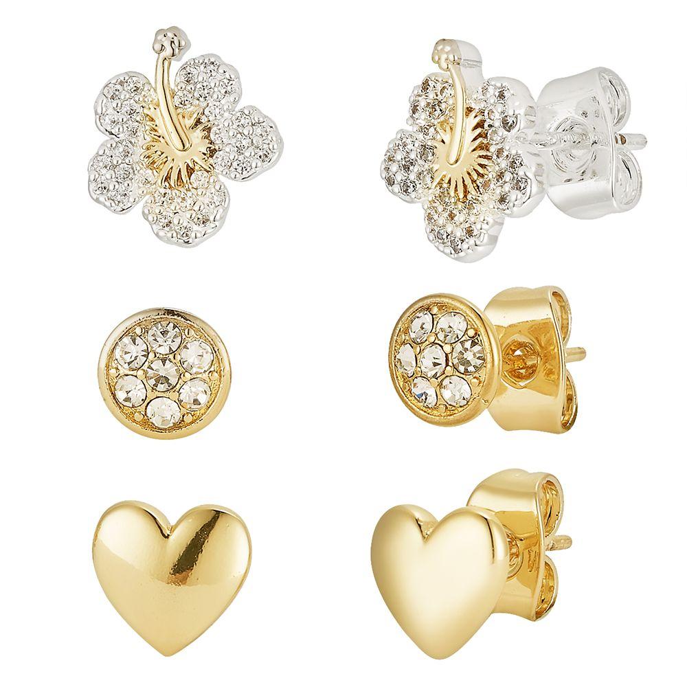 Lilo & Stitch Ohana Earring Set