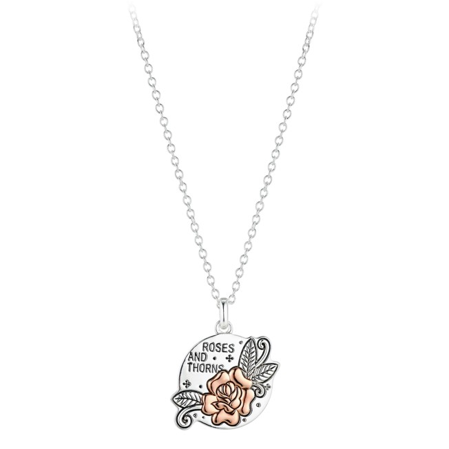 Roses and Thorns Pendant Necklace – Beauty and the Beast