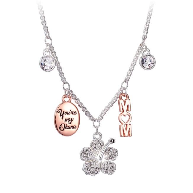 Ohana ''Mom'' Charm Bolo Necklace –Lilo & Stitch