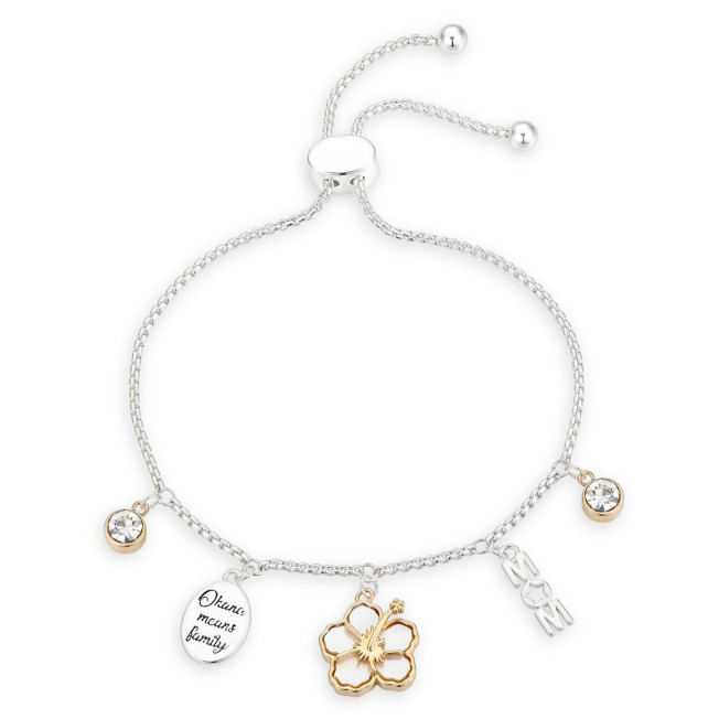 Lilo & Stitch ''Mom'' Bolo Charm Bracelet
