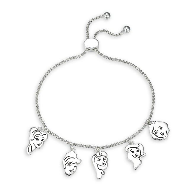 Disney Princess Bolo Charm Bracelet