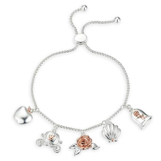 Disney Princess Icons Bolo Charm Bracelet