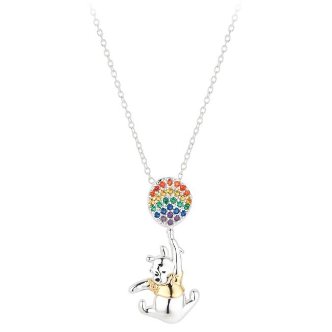 Winnie the Pooh Rainbow Balloon Necklace