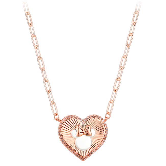 Minnie Mouse Paperlink Necklace