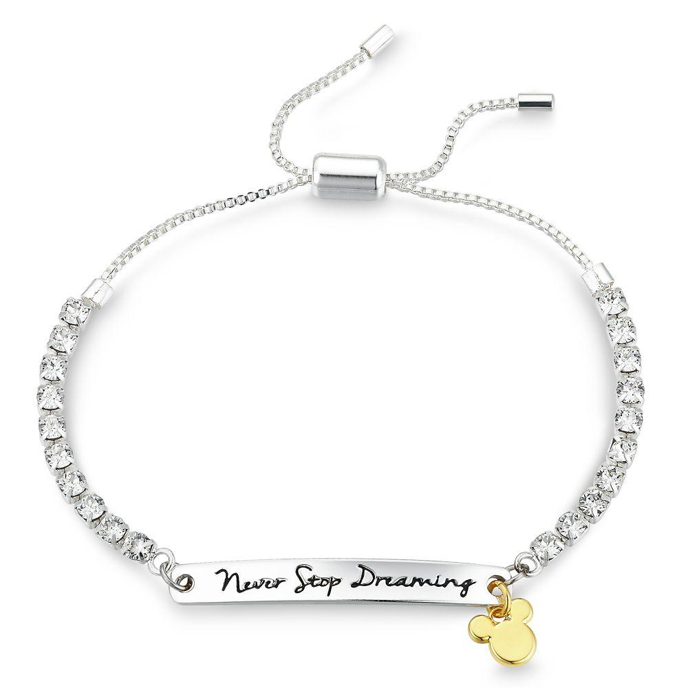 Mickey Mouse Swarovski Crystal Bolo Tennis Bracelet | shopDisney