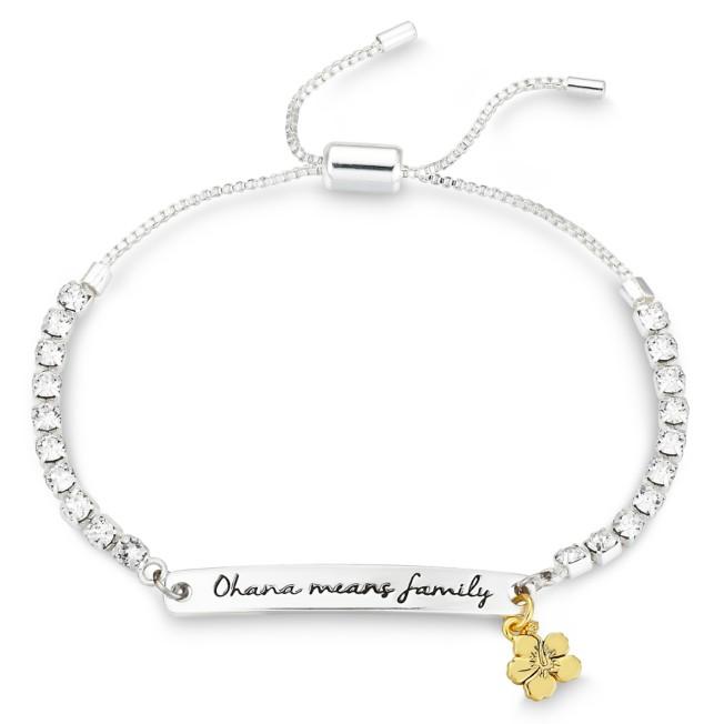 Lilo & Stitch Swarovski Crystal Bolo Tennis Bracelet