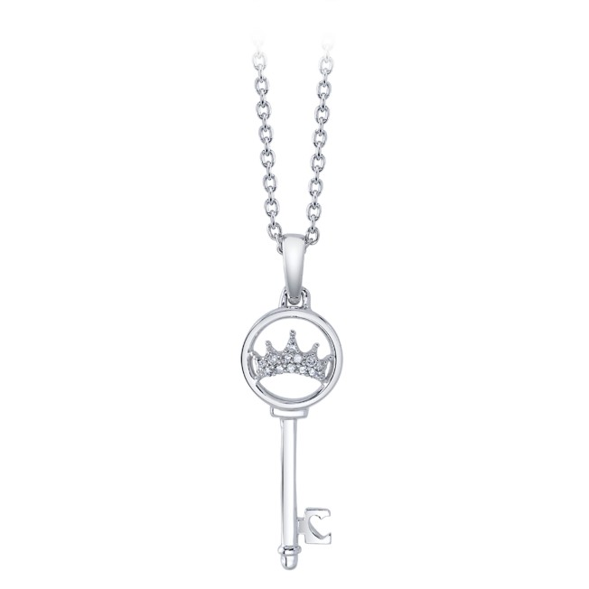 Disney Princess Key Diamond Necklace