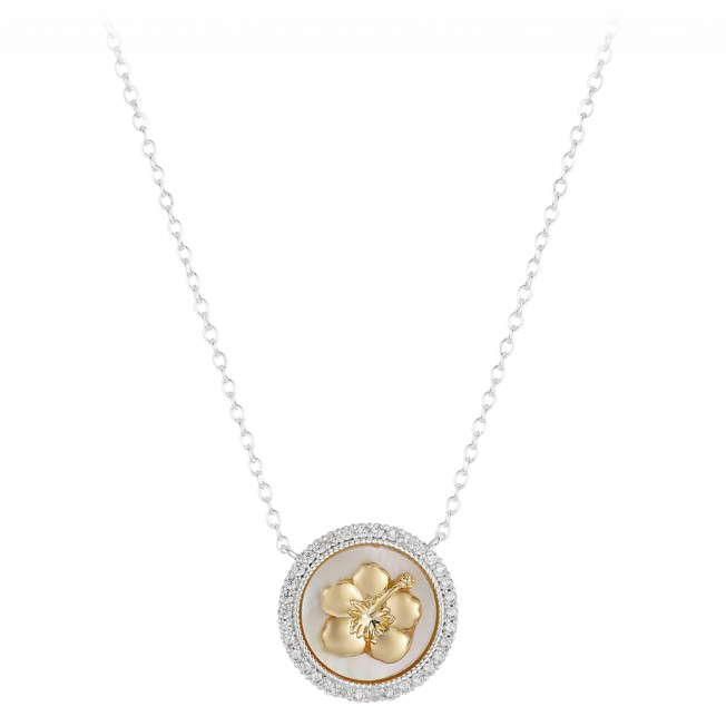 Lilo & Stitch Mother of Pearl Necklace