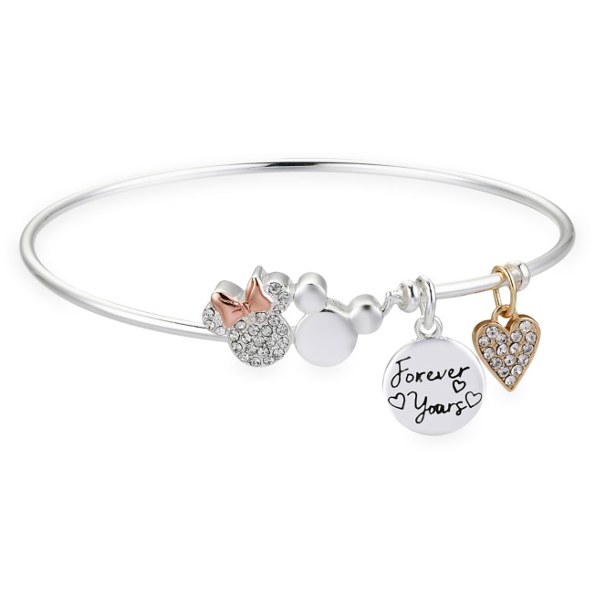 Mickey and Minnie Mouse ''Forever Yours'' Bangle