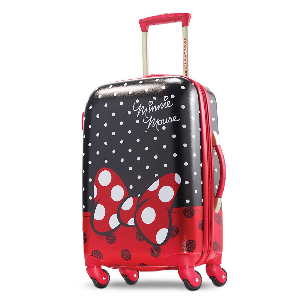 Minnie Mouse Bow Luggage – American Tourister – Small
