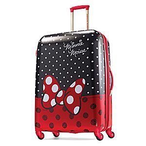 Minnie Mouse Bow Luggage - American Tourister - Large