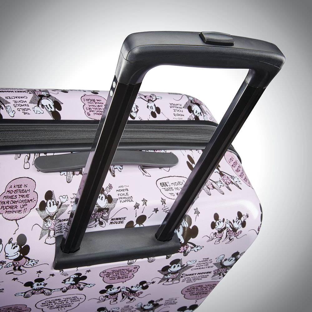 Mickey and Minnie Mouse Rolling Luggage by American Tourister – Small