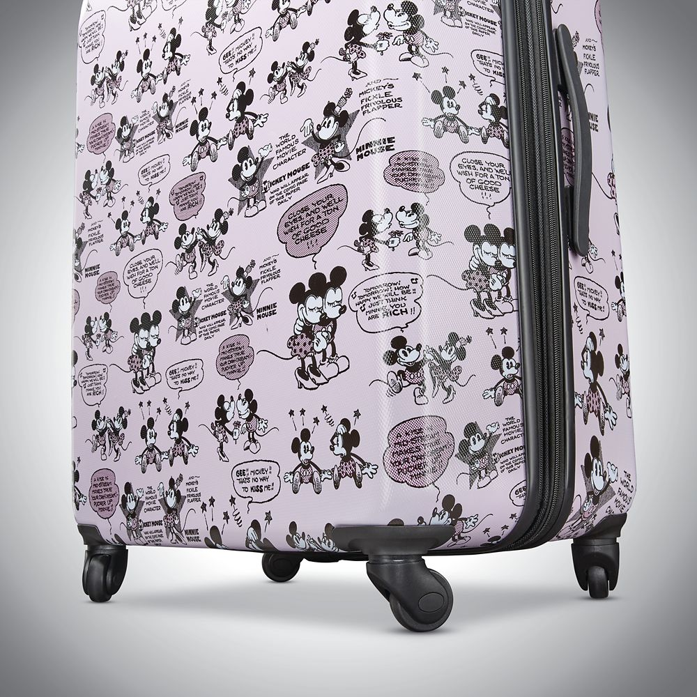 Mickey and Minnie Mouse Rolling Luggage by American Tourister – Large