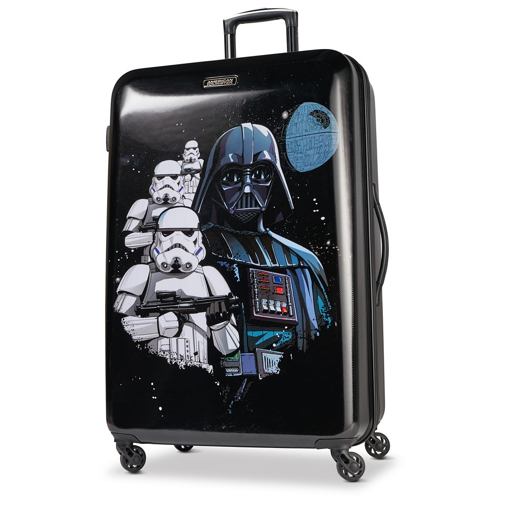 Darth Vader Rolling Luggage by American Tourister  Star Wars  Large Official shopDisney