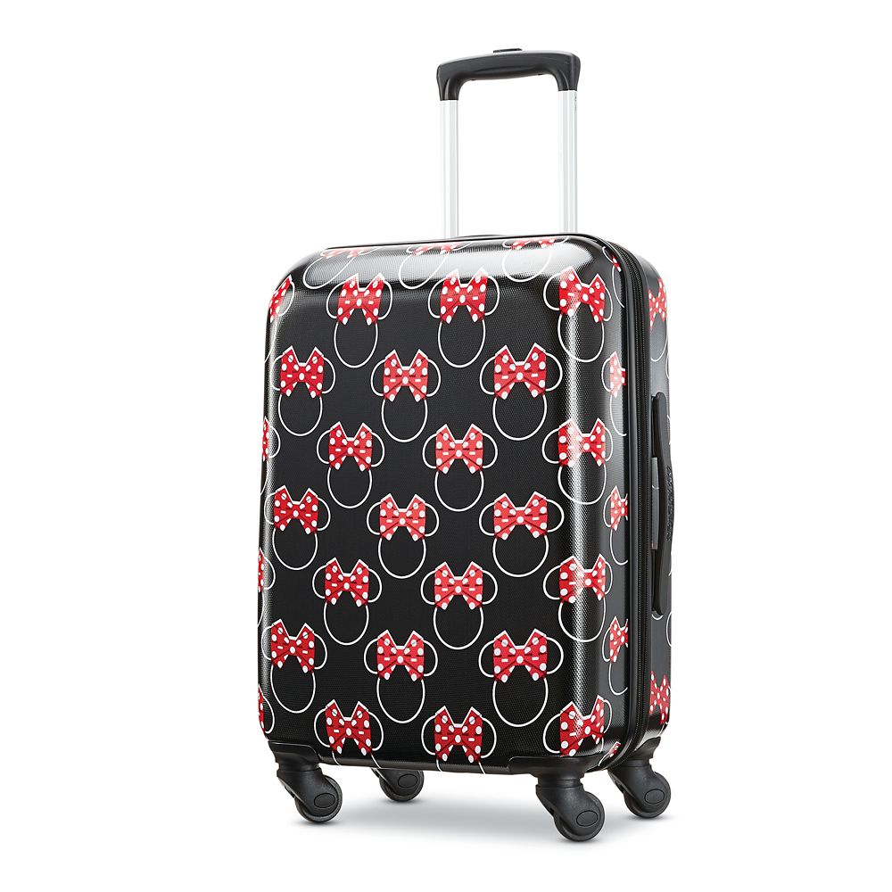 Minnie Mouse Bows Rolling Luggage by American Tourister – Small