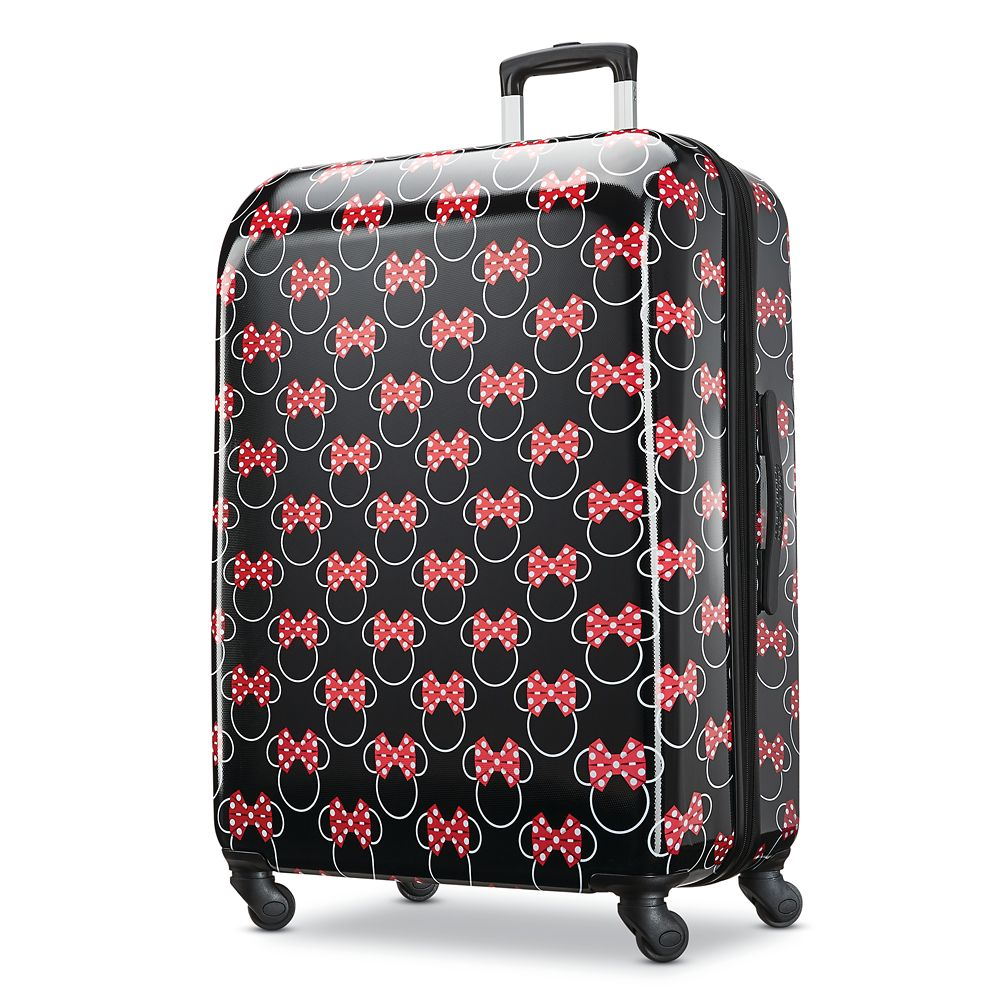 Minnie Mouse Bows Rolling Luggage by American Tourister  Large Official shopDisney