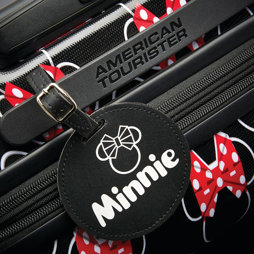 Minnie Mouse Bows Rolling Luggage by American Tourister – Large