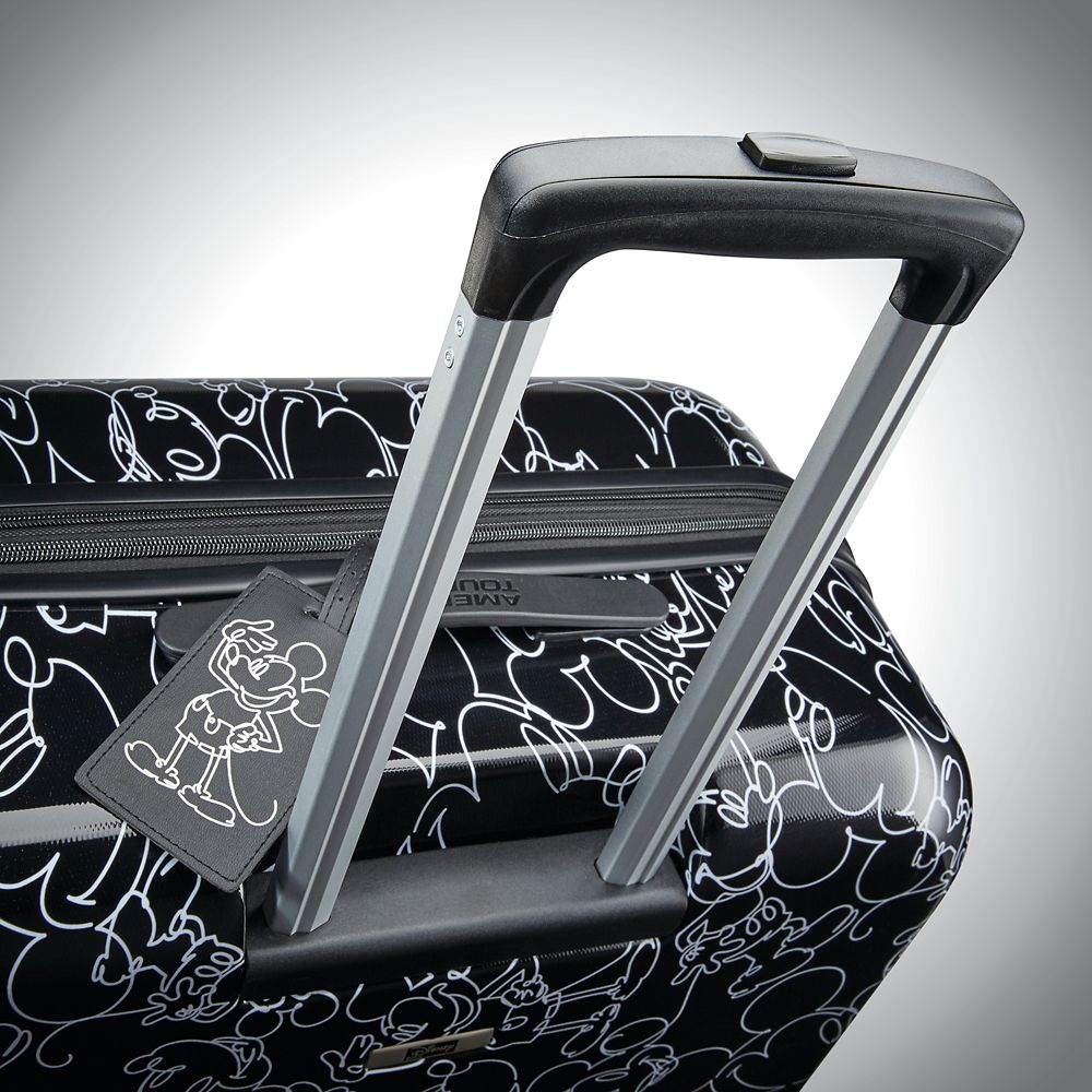 Mickey Mouse Line Art Rolling Luggage by American Tourister – Large