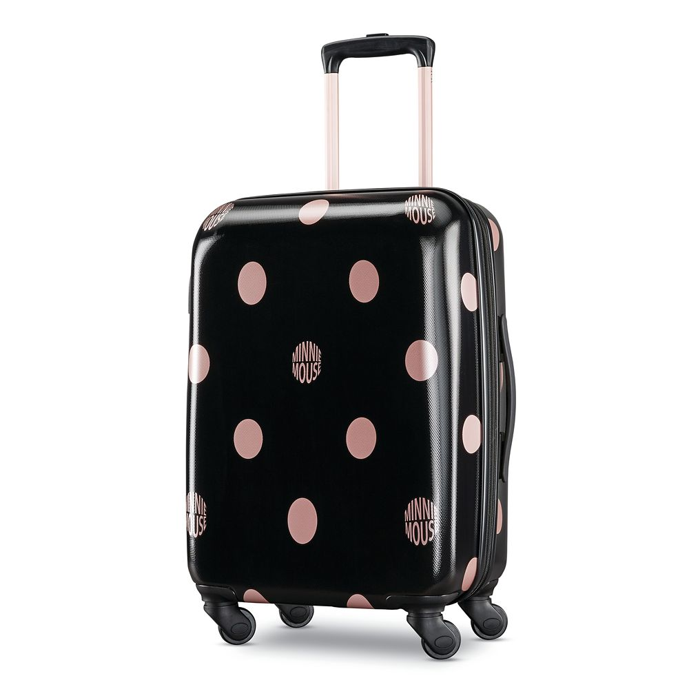 Minnie Mouse Dots Rolling Luggage by American Tourister – Small