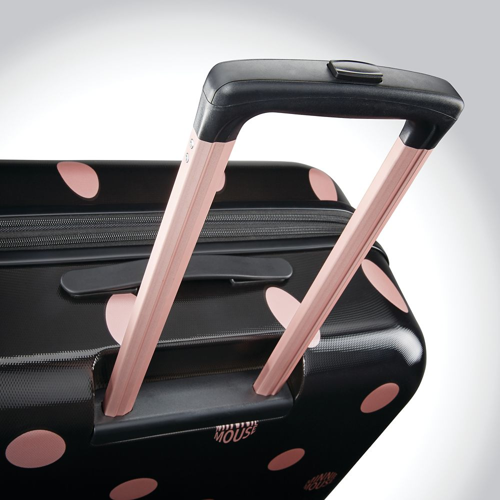 Minnie Mouse Dots Rolling Luggage by American Tourister – Large