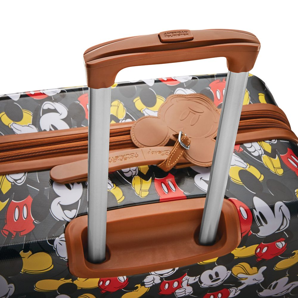 Mickey Mouse Classic Rolling Luggage by American Tourister – Small