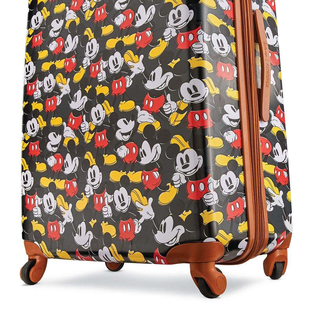 Mickey Mouse Classic Rolling Luggage by American Tourister – Large