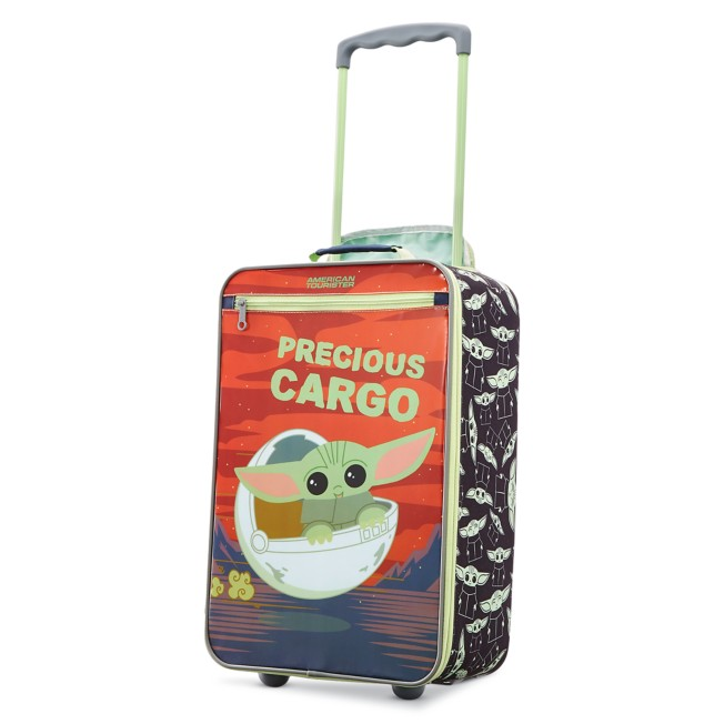 The Child Rolling Luggage by American Tourister – Star Wars: The Mandalorian – Small