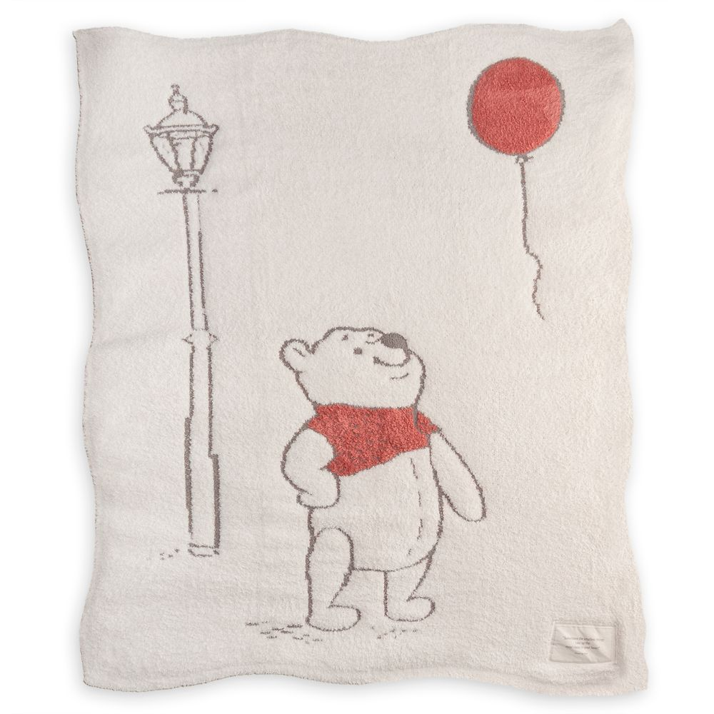 Winnie the Pooh Blanket by Barefoot Dreams