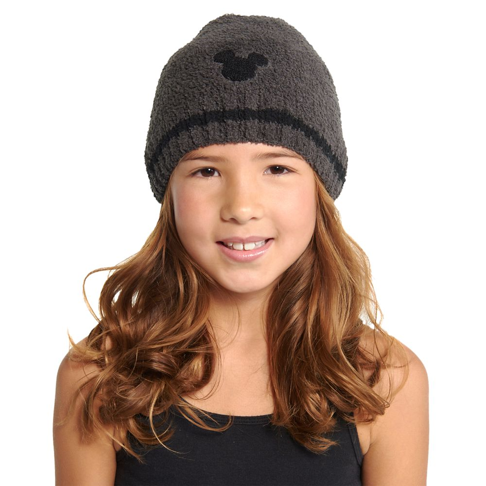 Mickey Mouse Beanie for Kids by Barefoot Dreams – Carbon