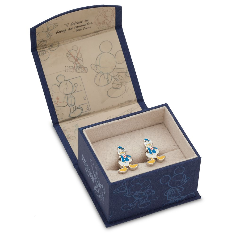 Donald Duck Cufflinks