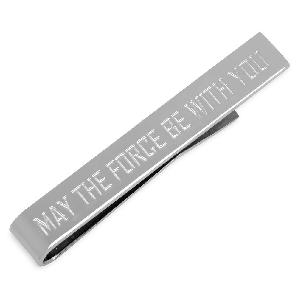 ''May the Force Be With You'' Tie Clip – Star Wars
