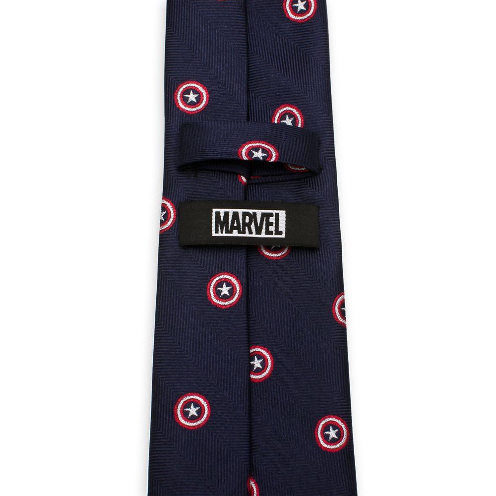 Captain America Silk Tie