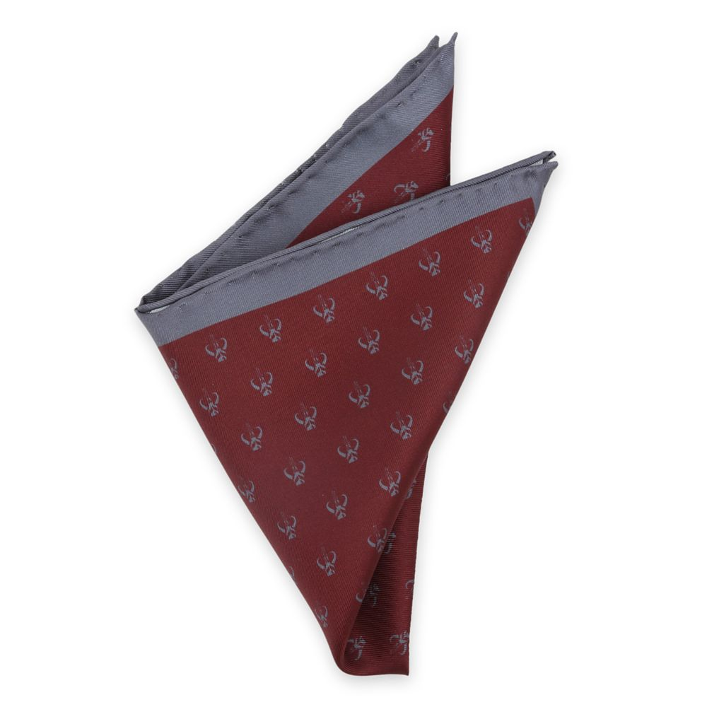 The Mandalorian Silk Pocket Square for Adults – Star Wars