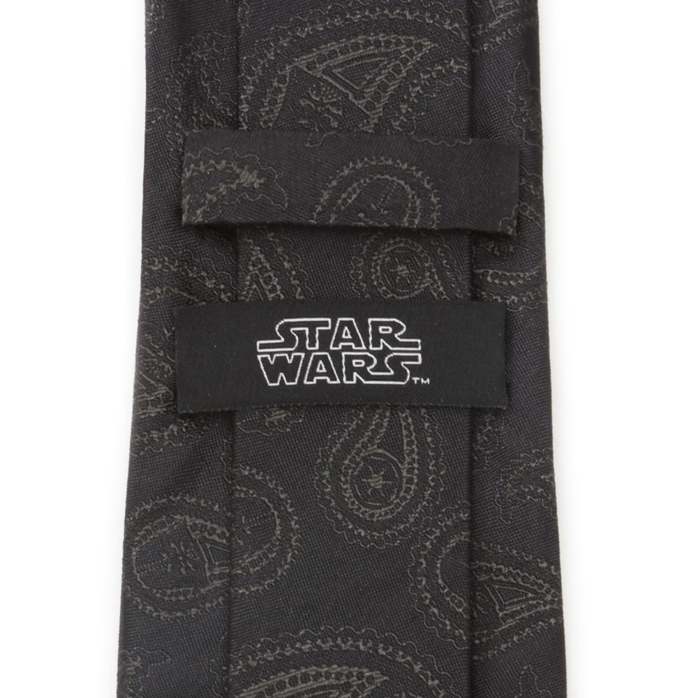 Darth Vader Paisley Silk Tie for Adults – Star Wars