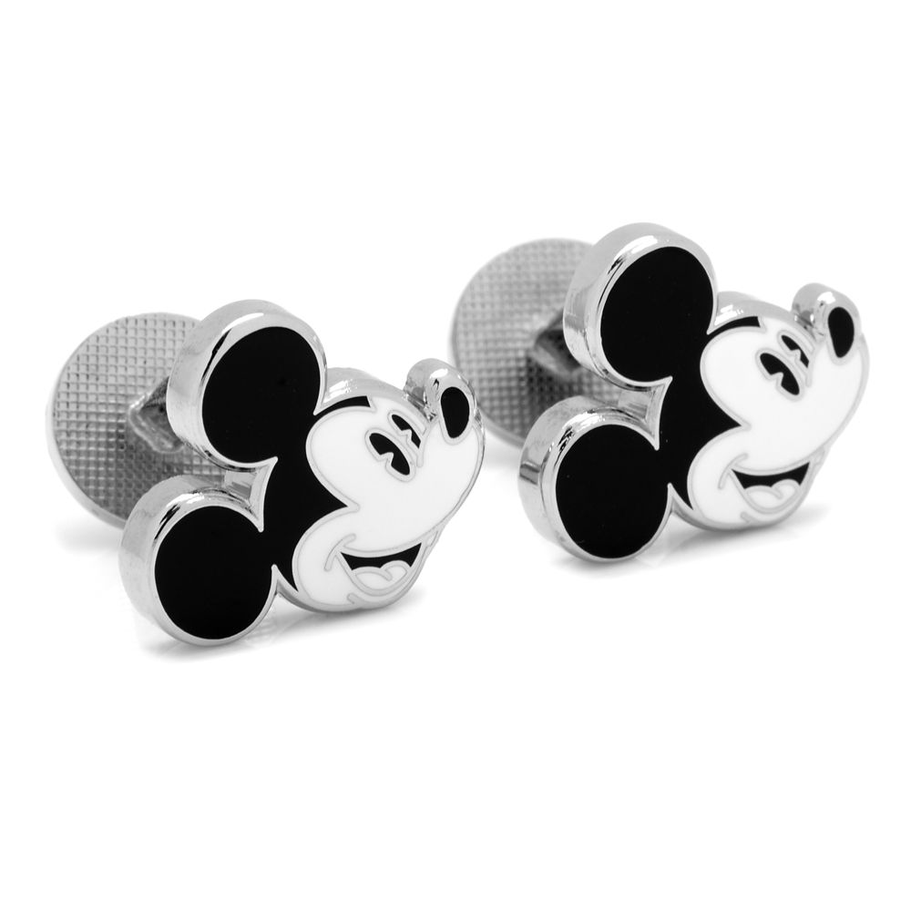Mickey Mouse Face Cufflinks
