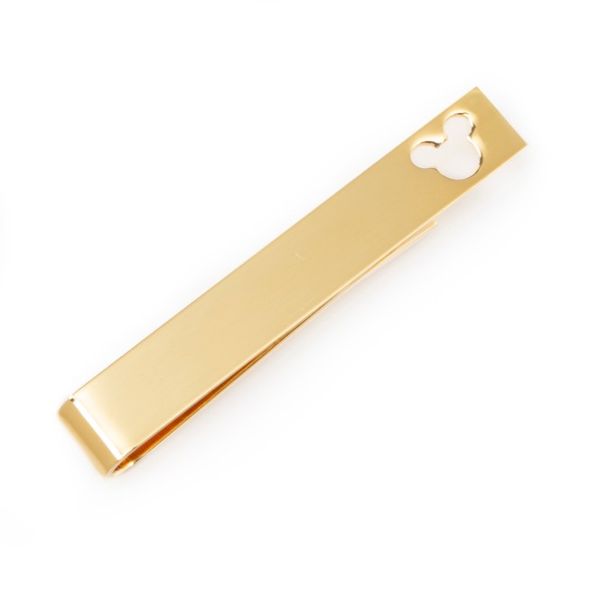 Mickey Mouse Tie Clip – Gold
