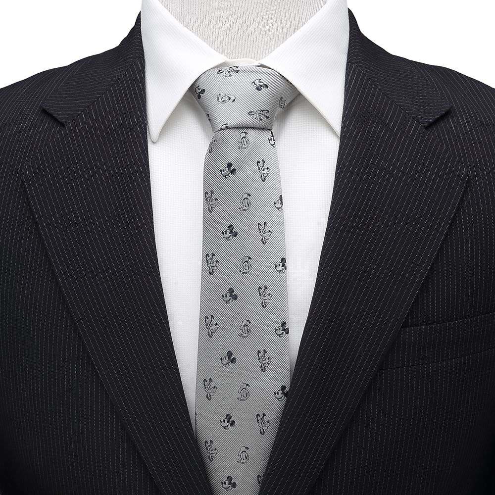 Mickey Mouse and Friends Silk Tie for Adults