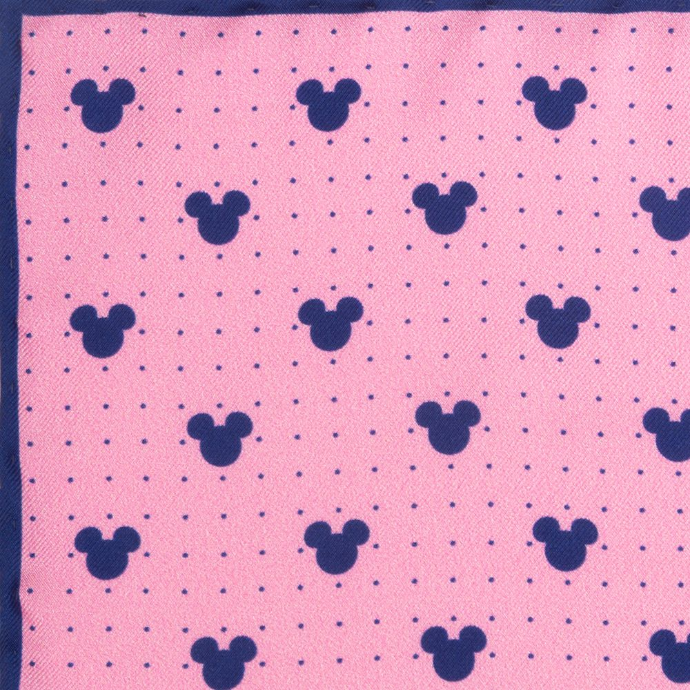 Mickey Mouse Icon Silk Pocket Square for Adults