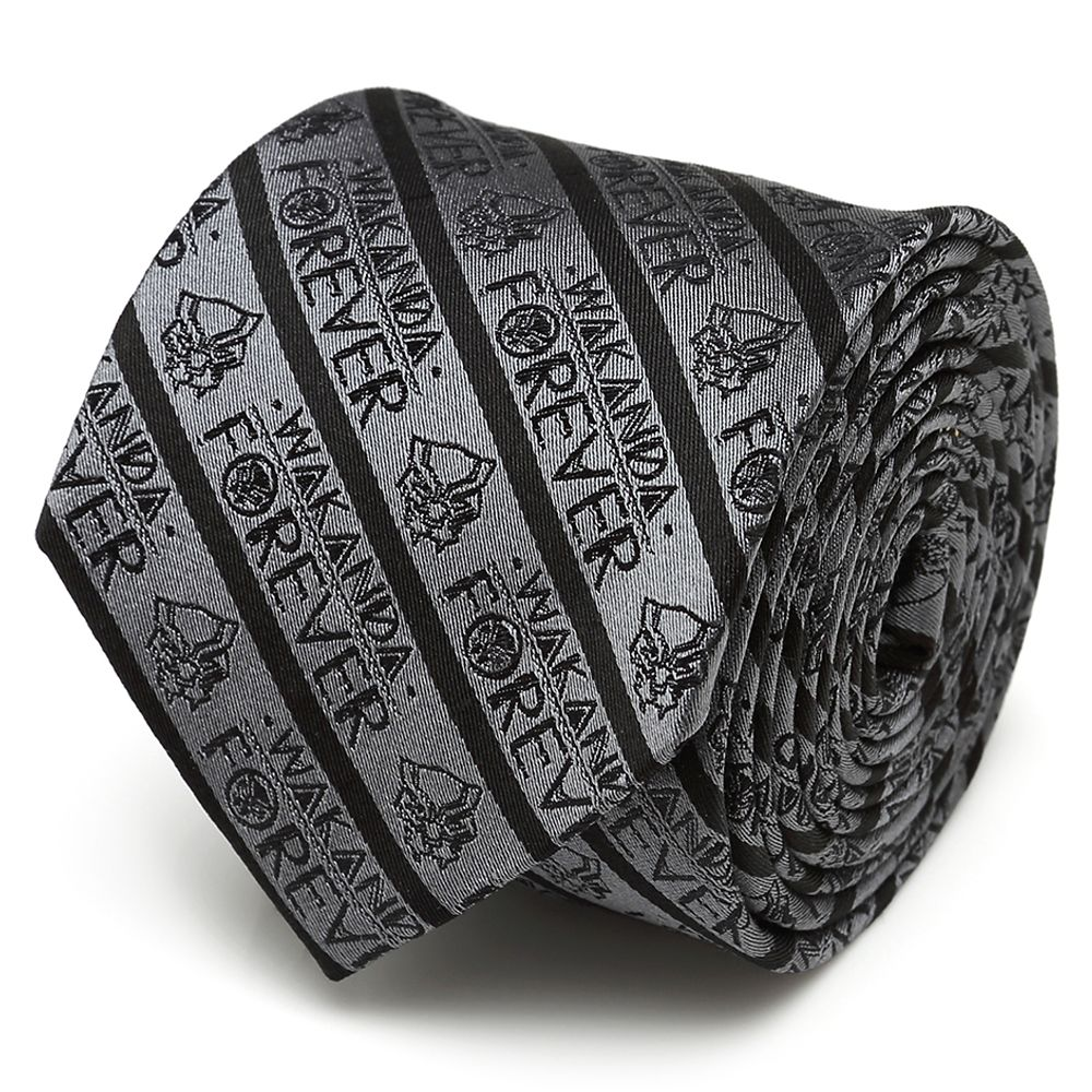 Wakanda Forever Silk Tie for Adults – Black Panther