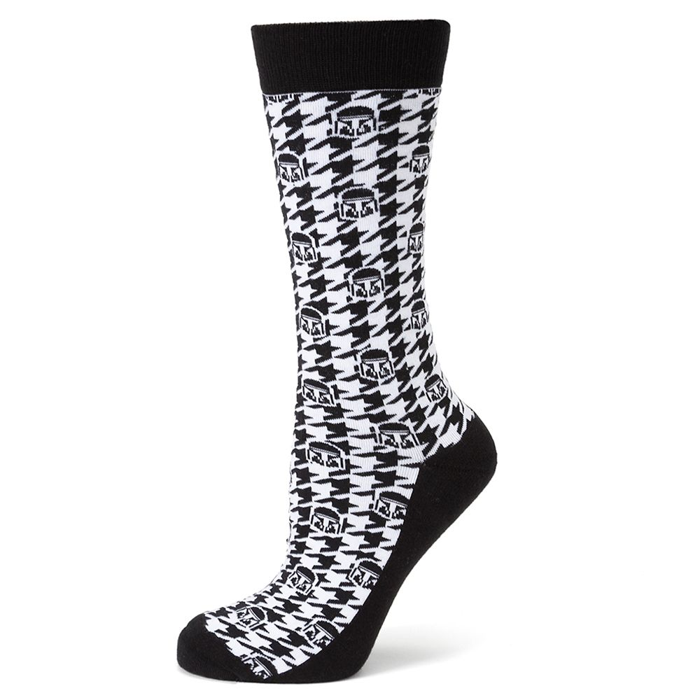 The Mandalorian Houndstooth Socks for Adults – Star Wars: The Mandalorian
