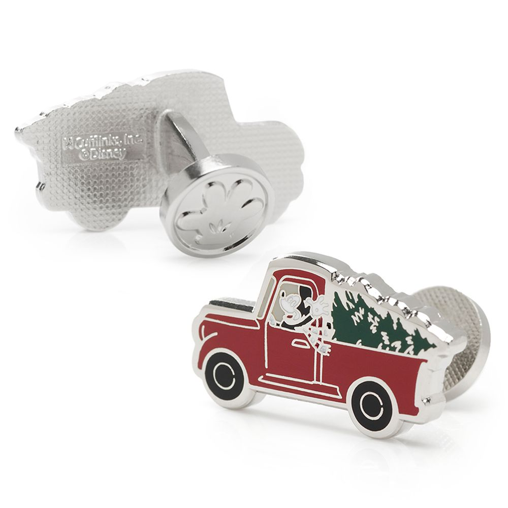 Mickey Mouse Holiday Truck Cufflinks