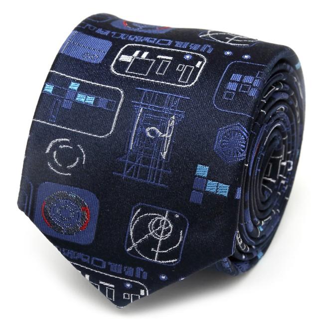 TIE Fighter Controls Silk Tie for Kids – Star Wars: The Rise of Skywalker