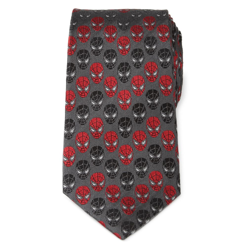 Spider-Man and Venom Silk Tie for Adults