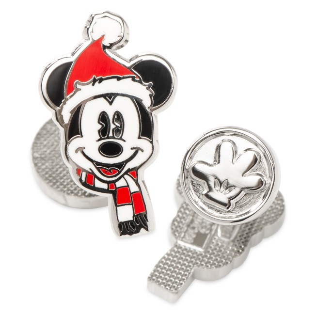 Santa Mickey Mouse Cufflinks