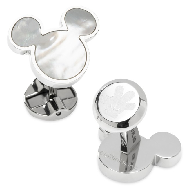 Mickey Mouse Icon Mother of Pearl Cufflinks