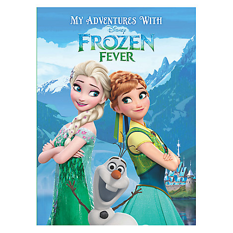 Frozen Fever Personalizable Book - Large Hardcover Format