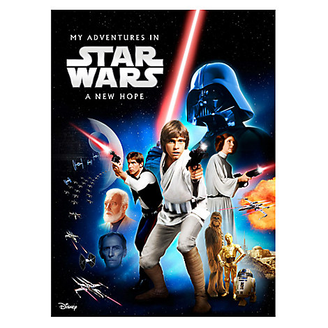Star Wars Personalizable Book - Large Paperback Format