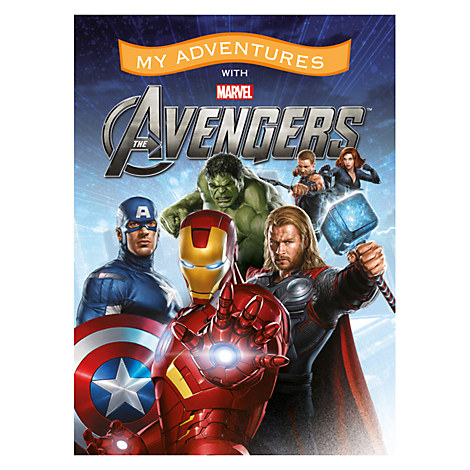 The Avengers Personalizable Book - Standard Format