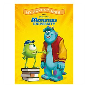 Monsters University ''My Adventures'' Personalizable Book - Standard Format